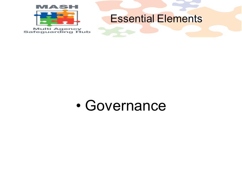 Governance Essential Elements