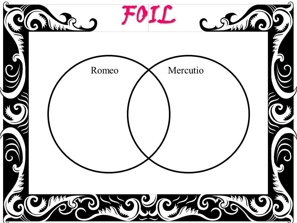 FOIL RomeoMercutio