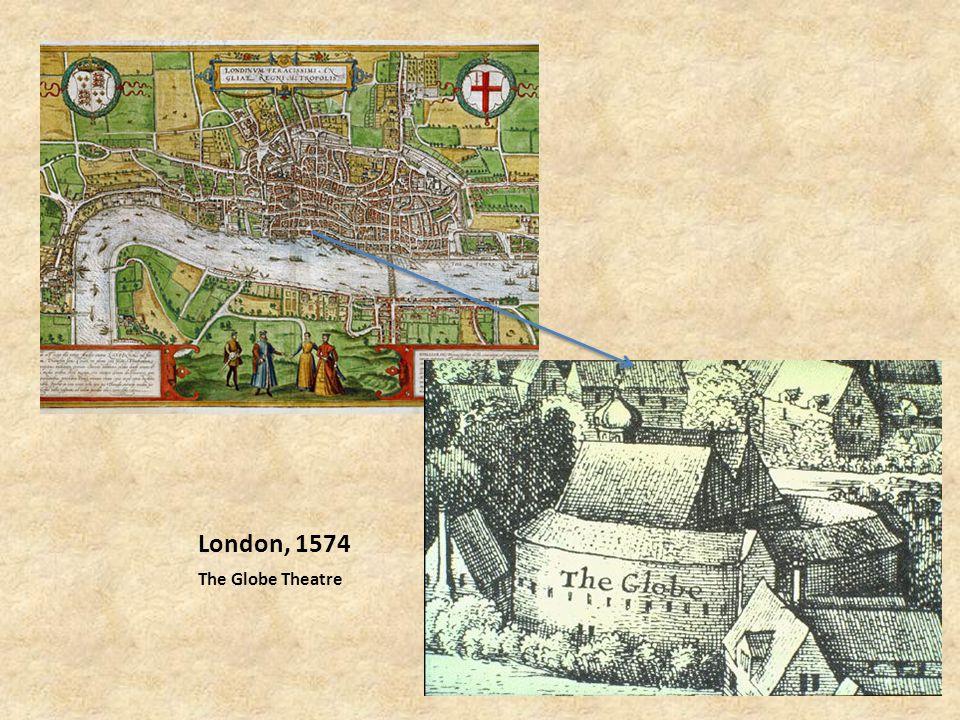 London, 1574 The Globe Theatre