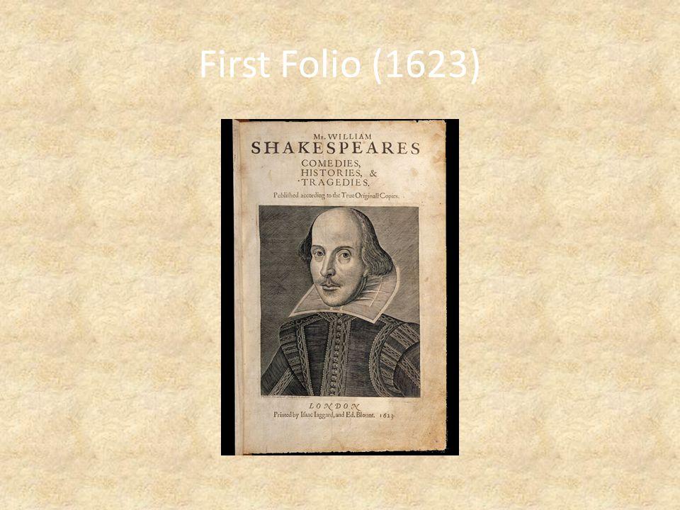 First Folio (1623)