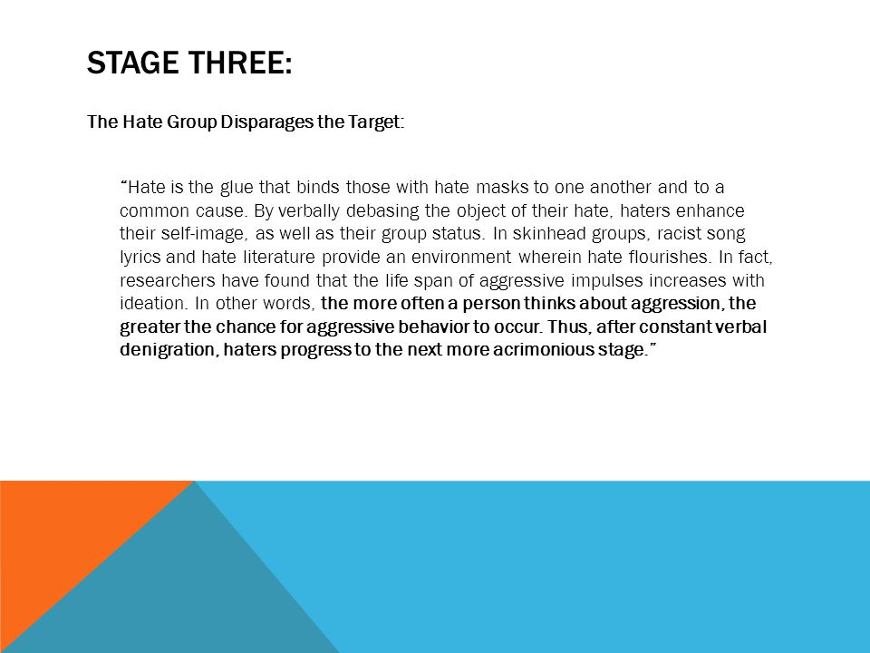 WHO COMMITS HATE CRIME  According to the Bureau of Justice Statistics, race is the most common motivating factor in hate crime offending reported to the police (61%), followed by religion (14%), sexual orientation (13%), ethnicity (11%), and victim disability (1%).