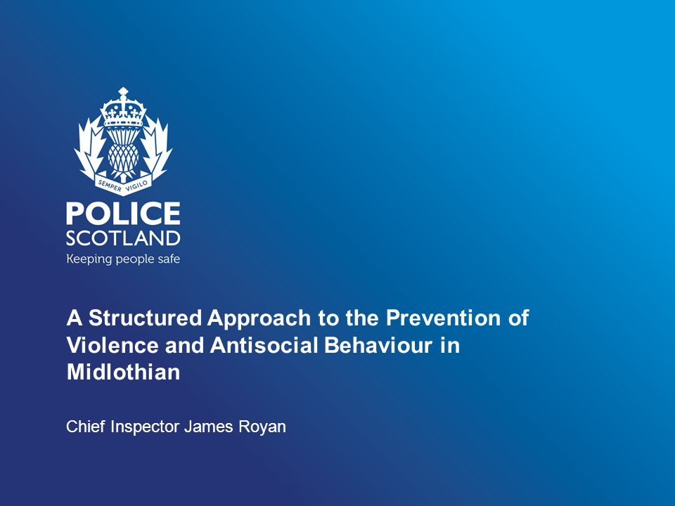 The 'Old' and the 'New' Protect the 'good' practice developed in partnership with Midlothian Council and other key stakeholders.