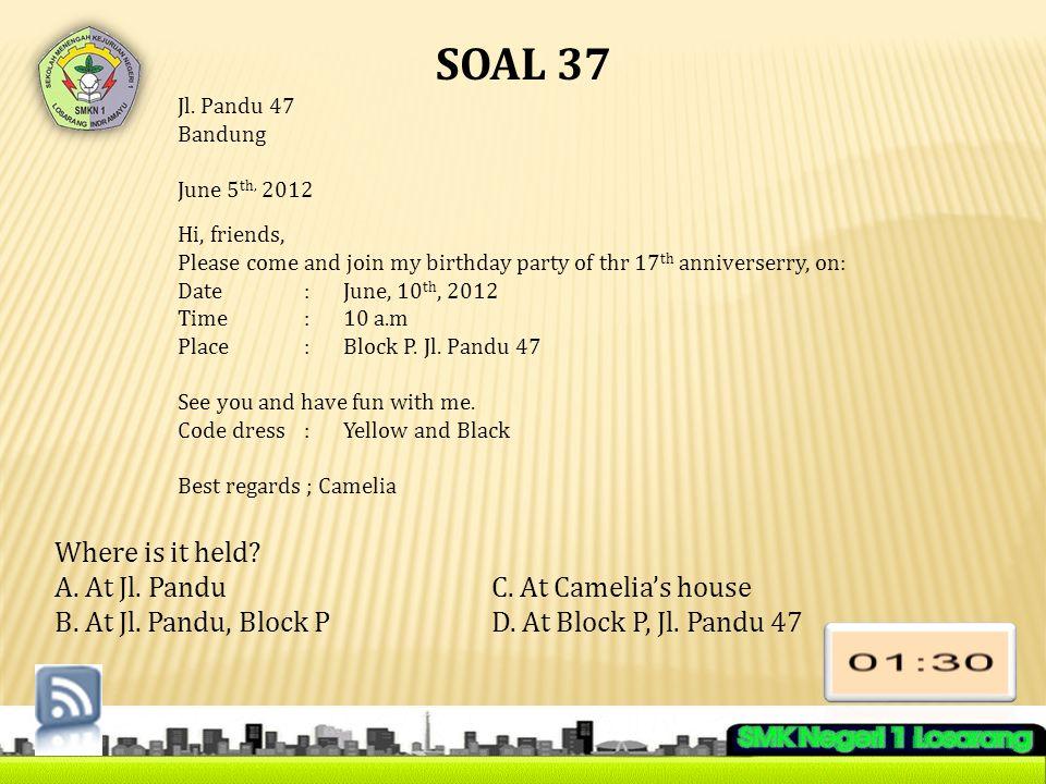 SOAL 37 Jl.