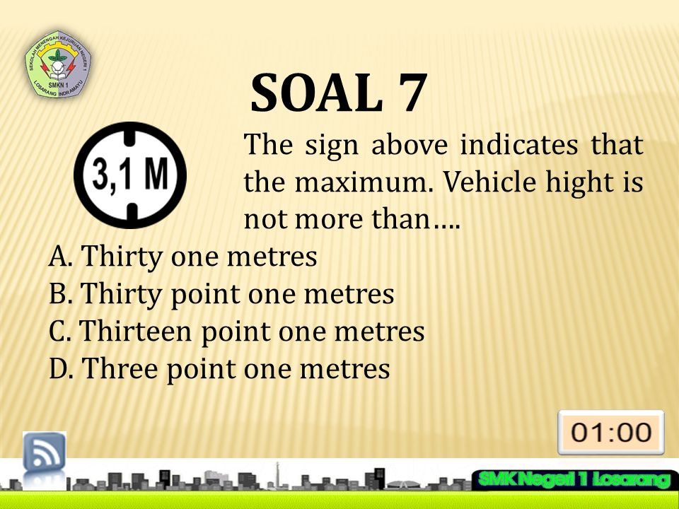 Soal 28 Questions 27 to 30 refer to the following text .