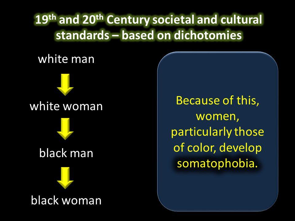 white man white woman black man black woman