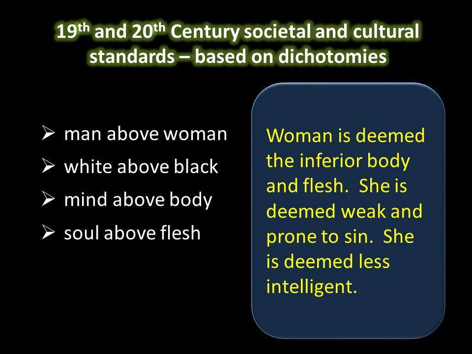 white man white woman black man black woman man above woman women learn to despise their gender man above woman women learn to despise their gender