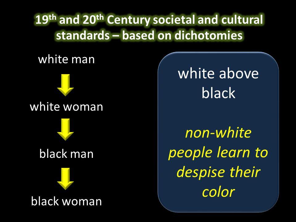 white man white woman black man black woman mind above body women learn to hate their bodies mind above body women learn to hate their bodies