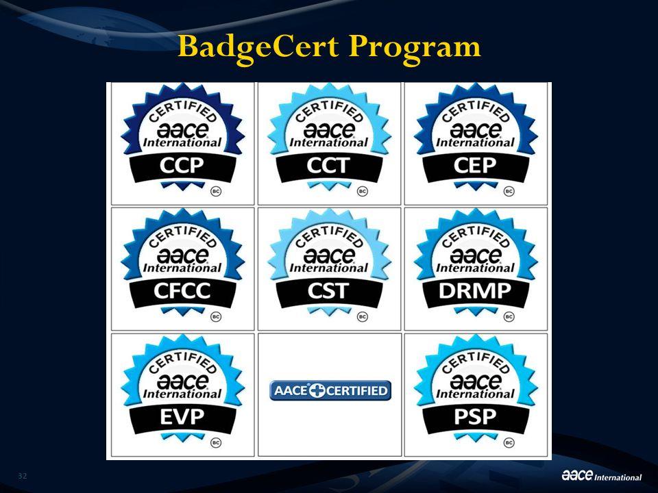 BadgeCert Program 32