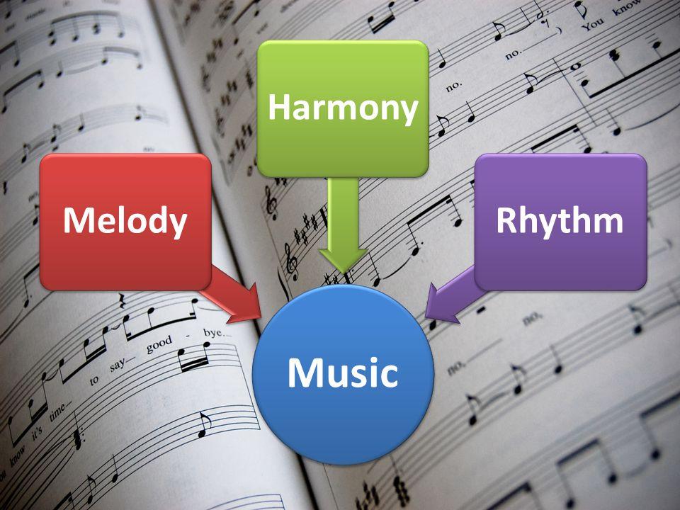 Music MelodyHarmonyRhythm