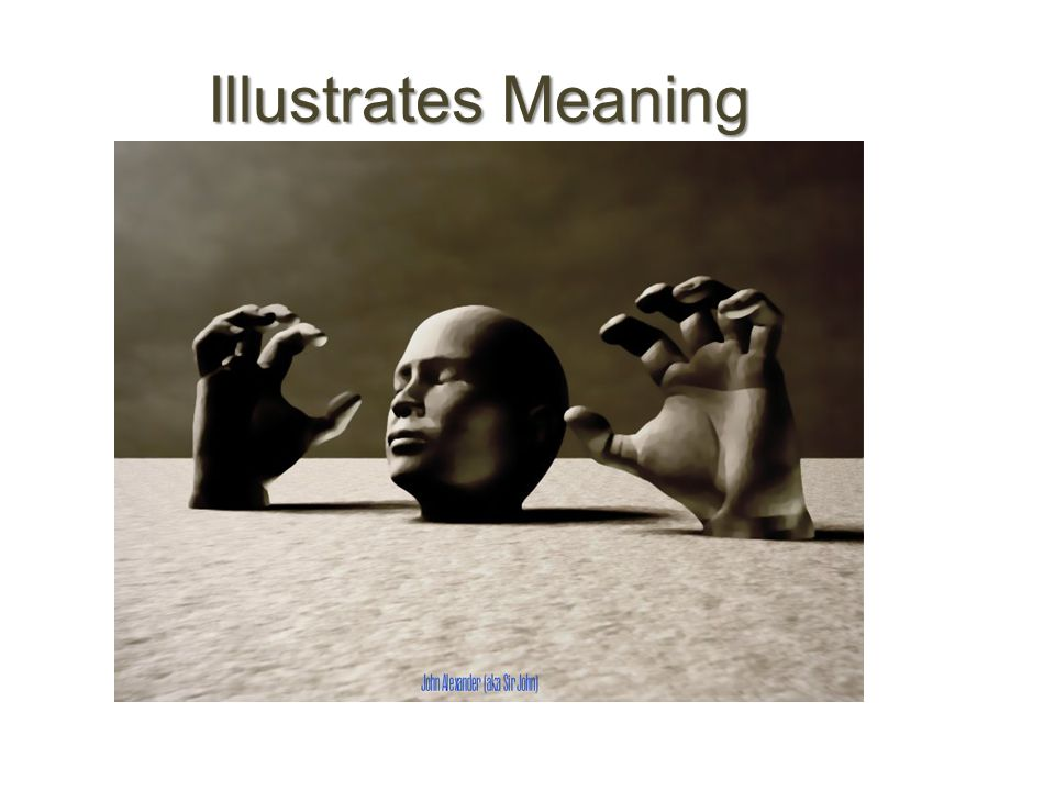 Illustrates Meaning