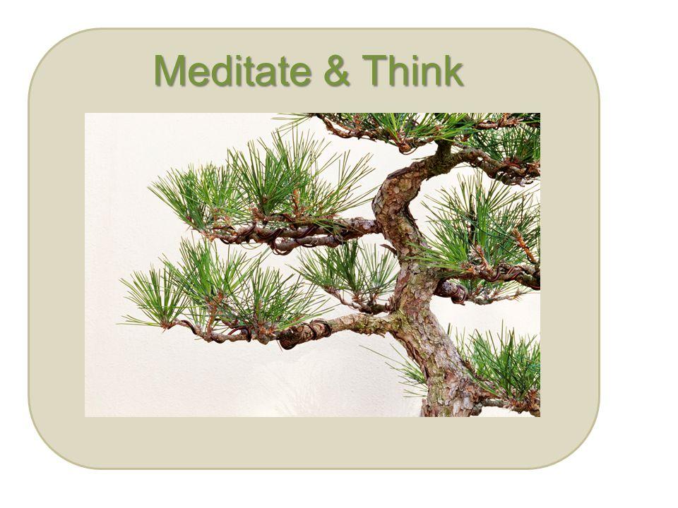 Meditate & Think