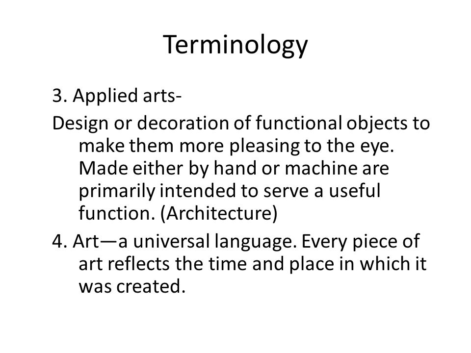 Written Response On the following 9 slides of art work, you are to write a summary response for each slide by applying the information you have learned about art, what artist create, why they create, and the meanings we should receive from viewing art.