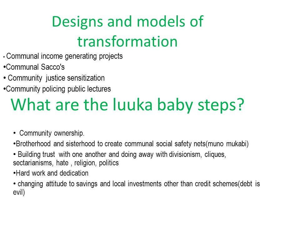 Sustainability- how does luuka maintain the pace.