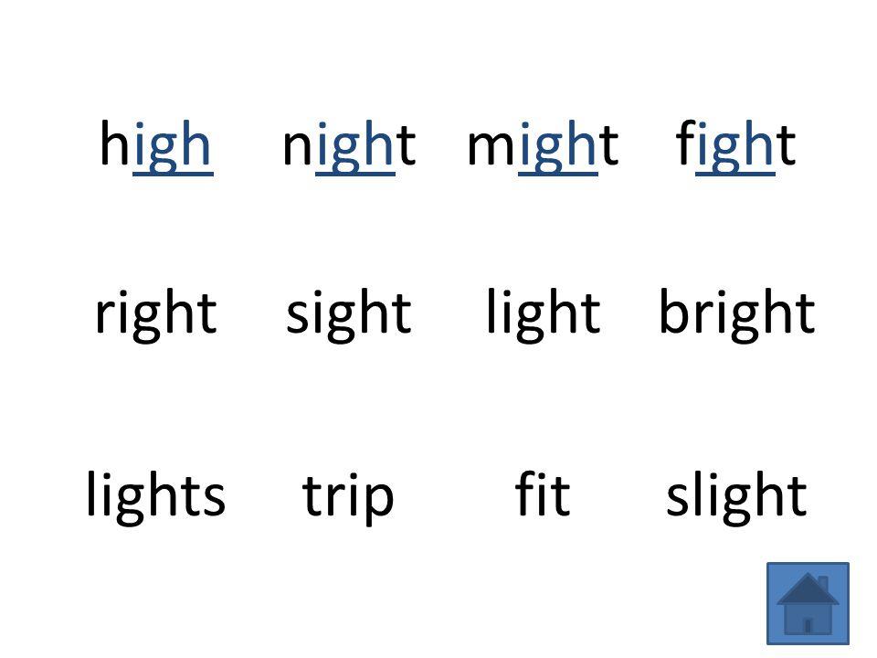 highnightmightfight rightsightlightbright lightstripfitslight