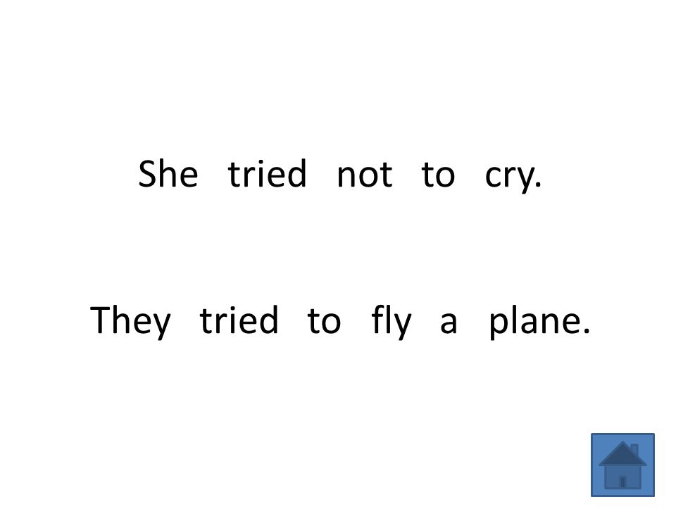 She tried not to cry. They tried to fly a plane.