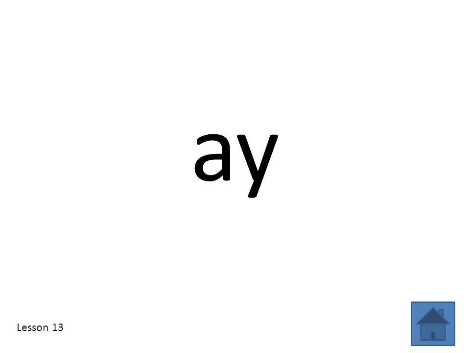 ay Lesson 13