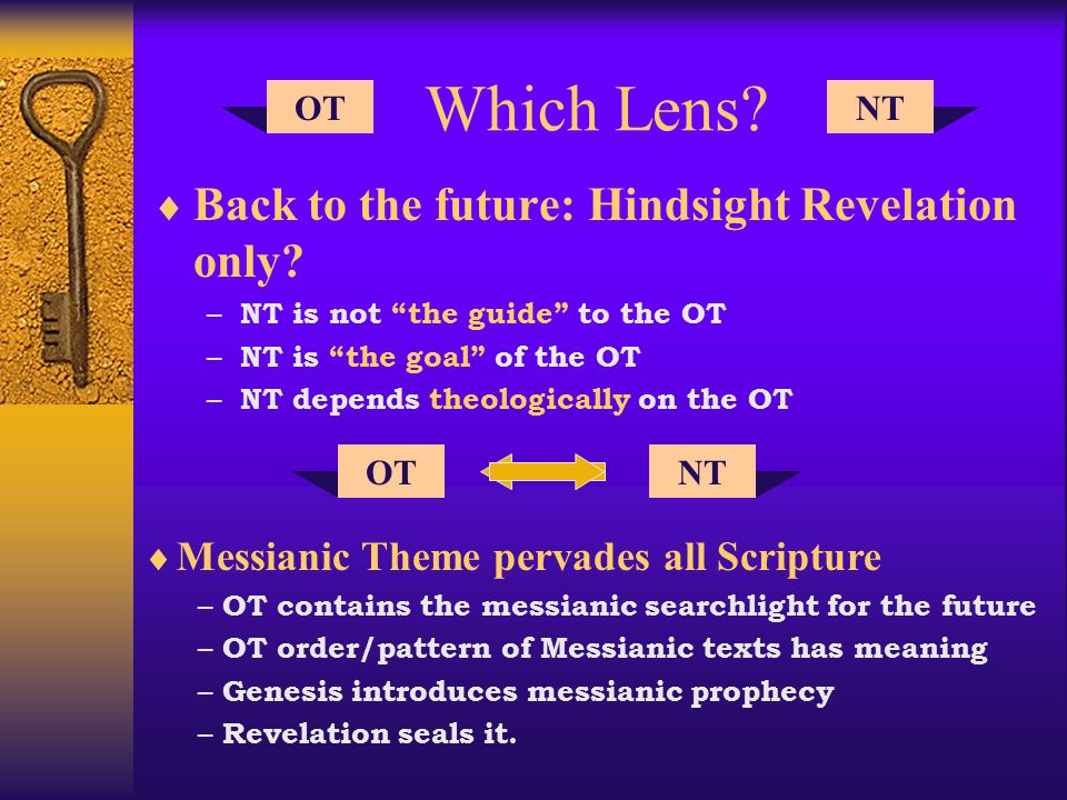 Approaches to Messianic Prophecy 2 FulfillmentRationaleMeaning Relecture (Clements) NT fills up OT historical reading P Historical Messianic NT Midrash-Pesher (Longenecker) Applicational Fulfillment only P A (OT) (NT) Direct-Dogmatic (Hengstenberg) OT read thru NT Neglects literary context of OT P Messianic NT Direct-Canonical (Sailhamer) NT read thru OT Canon shape reveals messianic thread P OT canon Messianic NT