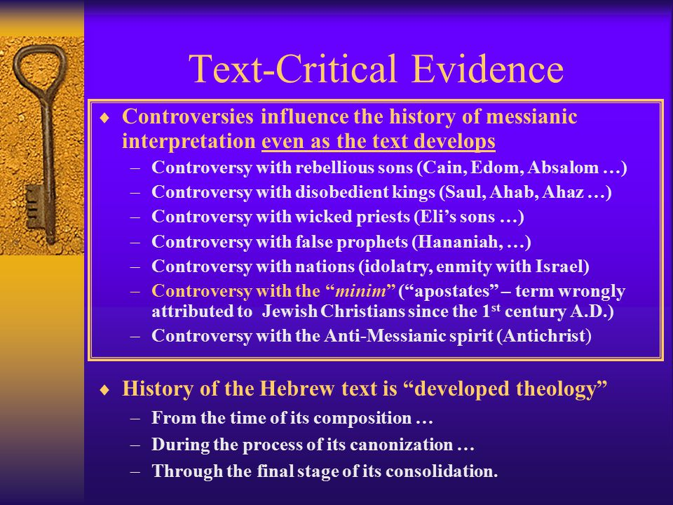 Is the Hebrew Bible Messianic.