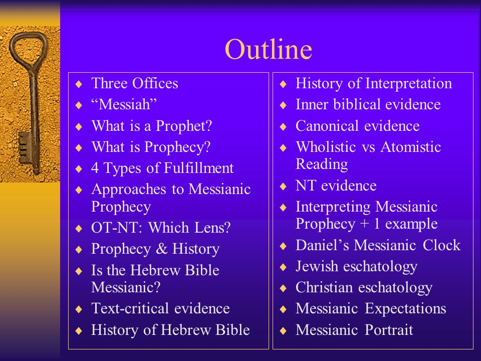 Messianic Prophecy by Maud G. Lew Based on Dr.