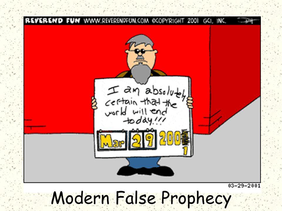 Modern False Prophecy