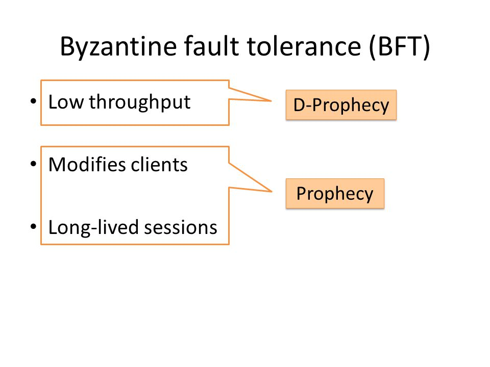 Traditional BFT reads Clients Replica Group application Agree?