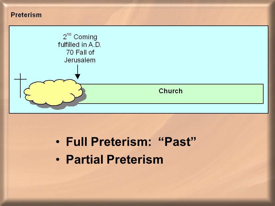 Full Preterism: Past Partial Preterism