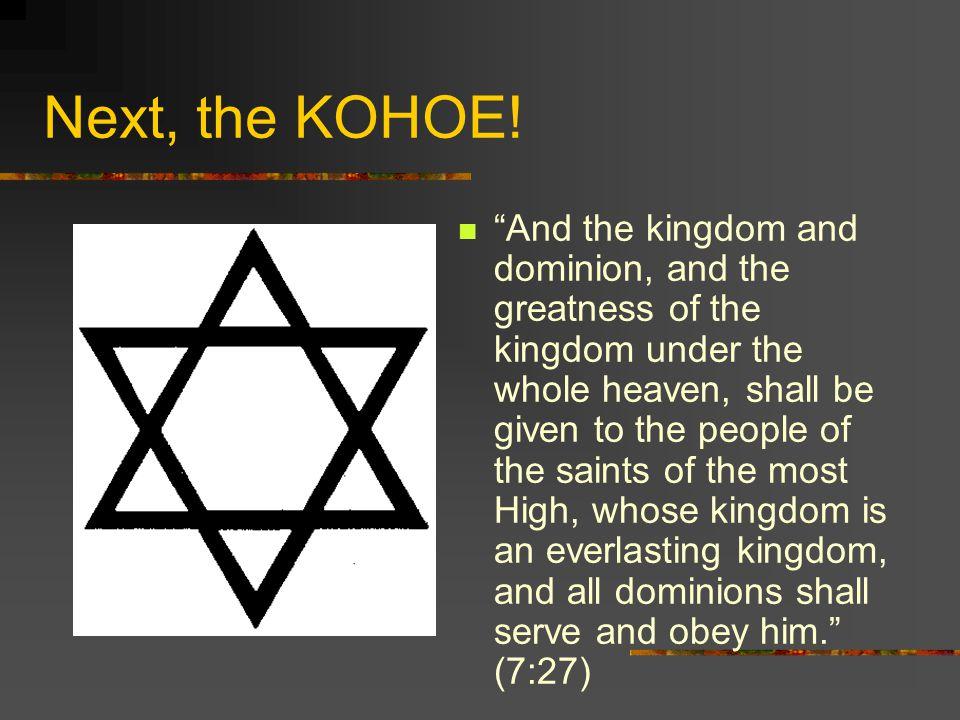 Next, the KOHOE.