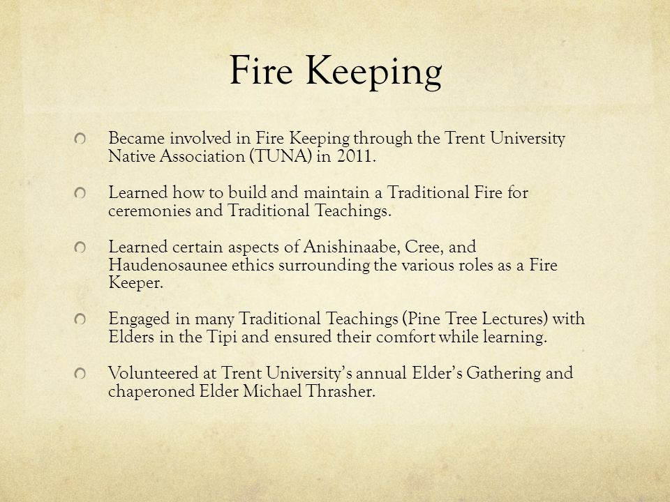 Indigenous Studies at Trent University Trent University was the first university in North America to establish a department dedicated to the study of Aboriginal Peoples.