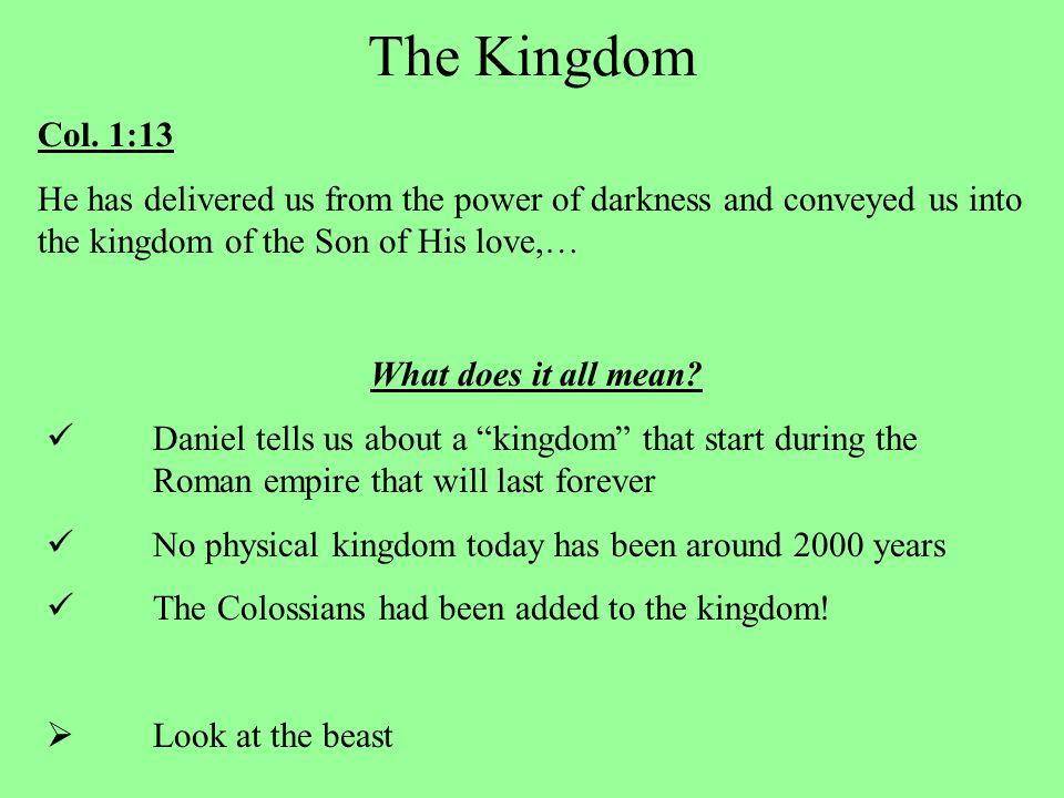 The Kingdom Col.