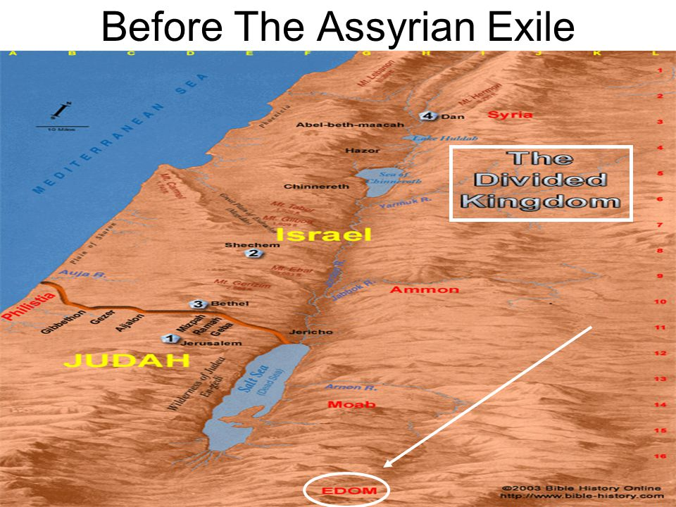 Before The Assyrian Exile