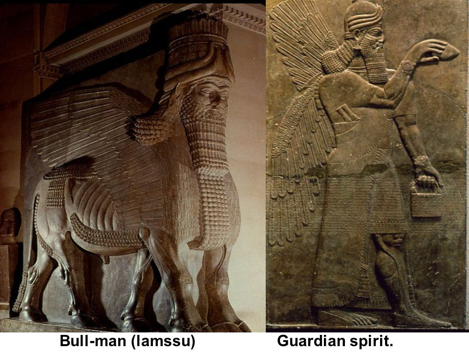 Bull-man (lamssu) Guardian spirit.