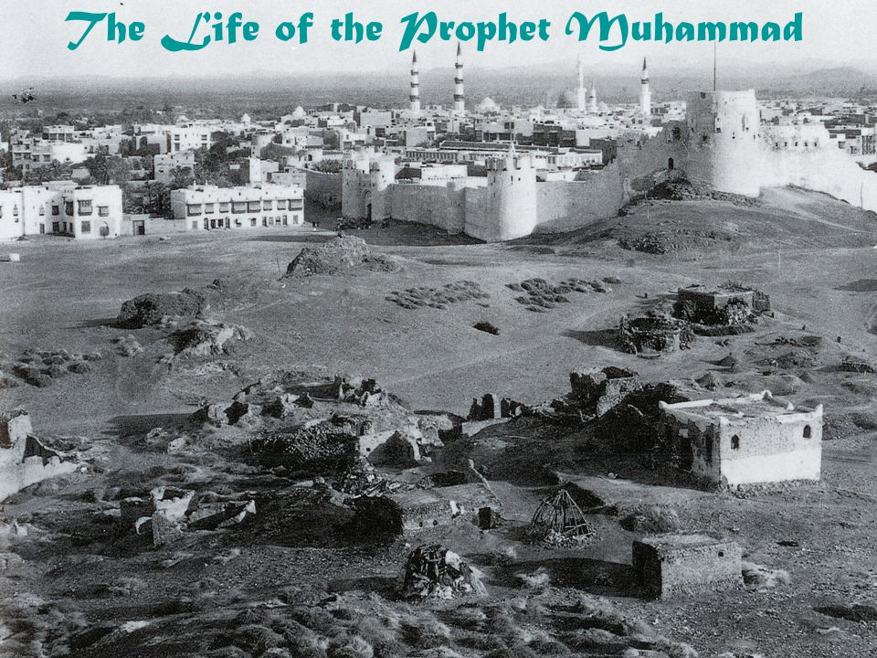 Periodization of the Prophet's Life 1.Preparation for Prophecy: 1.Childhood: preparation for prophecy 2.Merchant career and marriage: 2.Meccan Revelations and Persecution: 1.Early revelations in Mecca 2.Building up early network of followers 3.Persecution by Meccans 4.Isra' and Mi'raj (الإسراء و المعراج) 3.Emigration and War: 1.Building Medinan community, political ruler 2.War with Meccans, their allies, conflict with Medinan Jews 4.After the Conquest: 1.Conquest of Mecca in 8/630 CE 2.Receiving submission of Arabian tribes 3.Conquest of Arabian peninsula