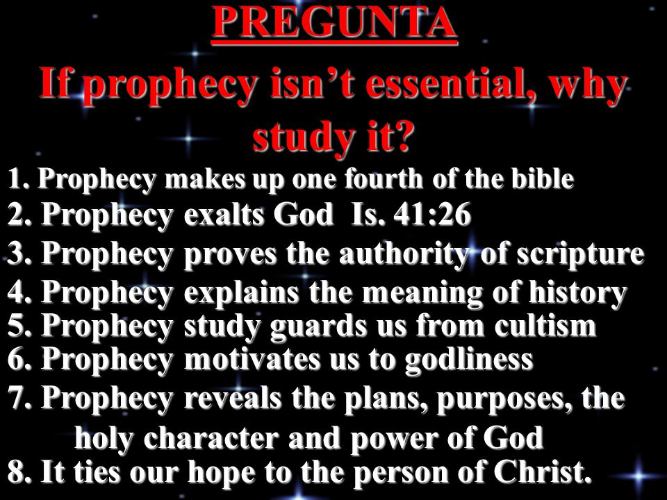 WHAT IS THE BEST WAY TO INTERPRET PROPHECY.