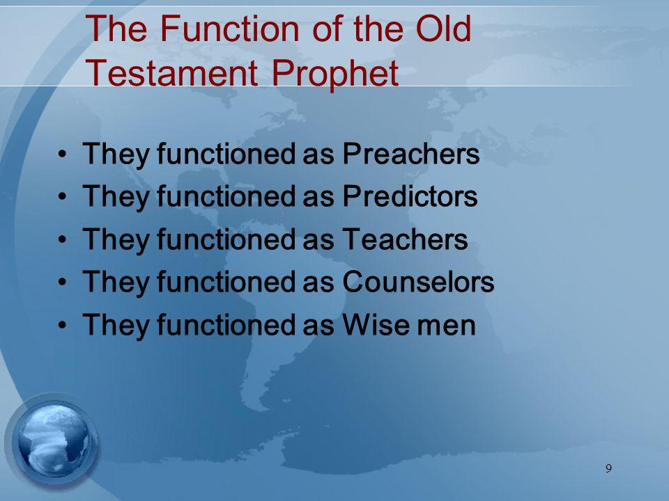 10 Distinctive Roles of Prophet Versus Priest
