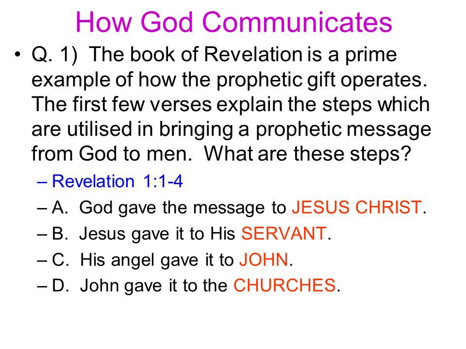 How God Communicates Q.