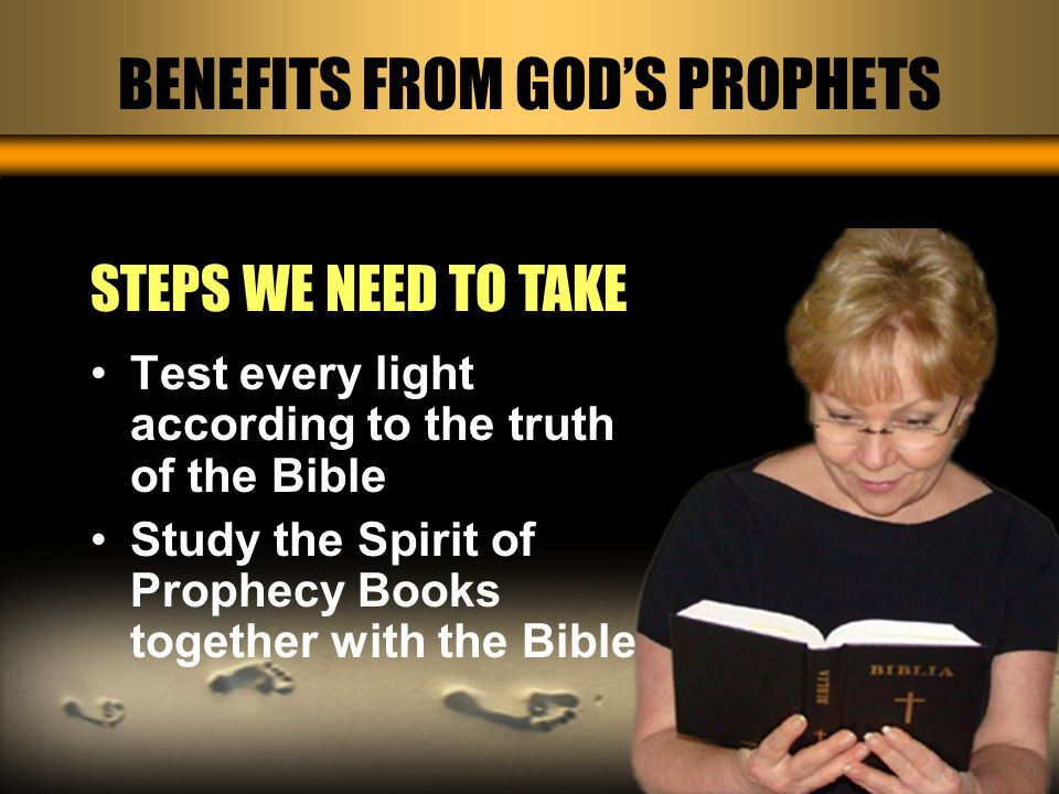 Studying the books of EGW strengthens our faith