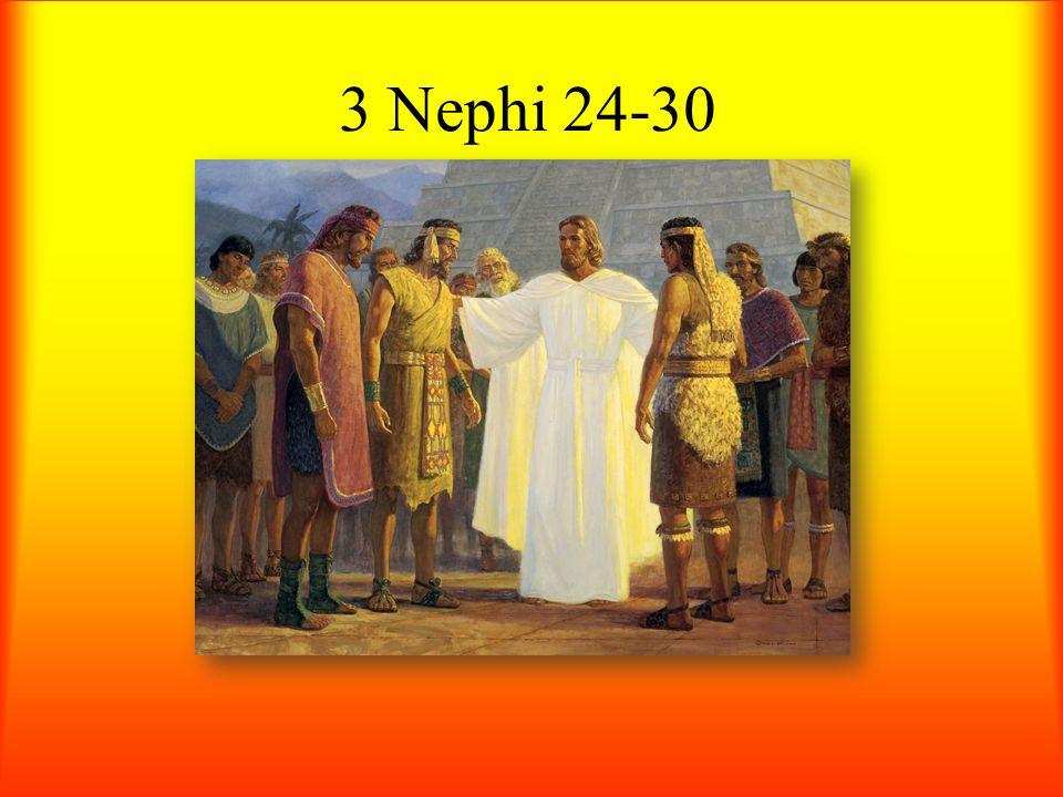 3 Nephi 24-30