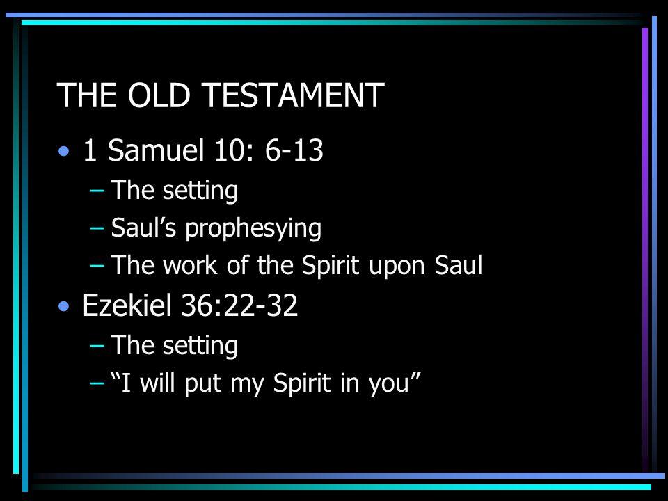 JESUS The Spirit-filled man par excellance The Master Teacher about the Spirit