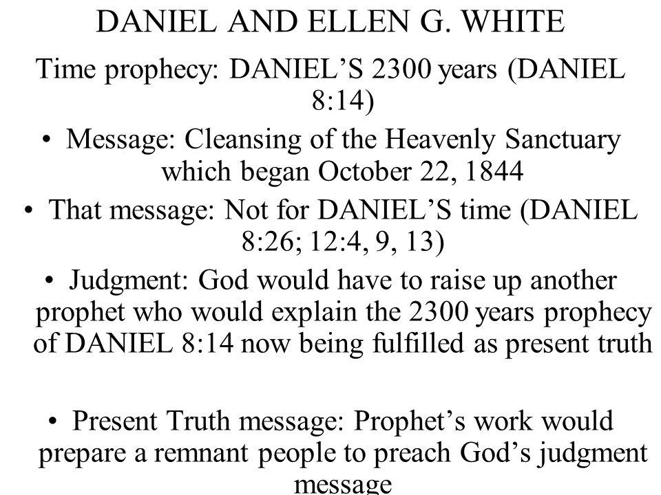 DANIEL AND ELLEN G.