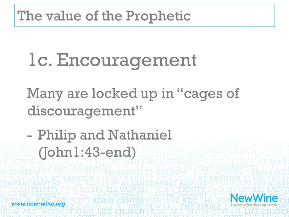 The value of the Prophetic 1c.