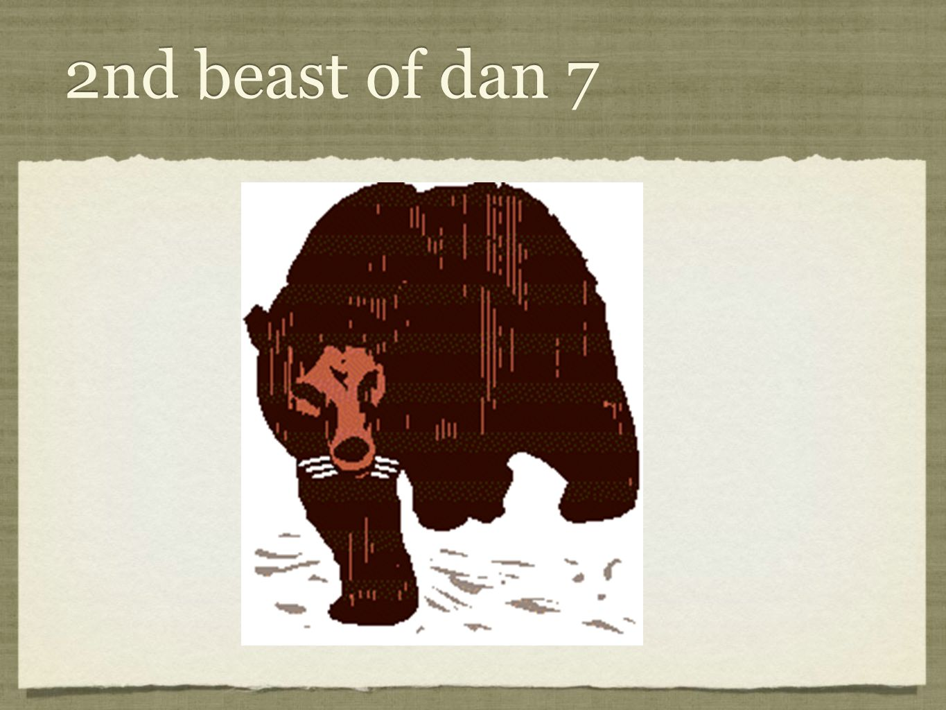 2nd beast of dan 7