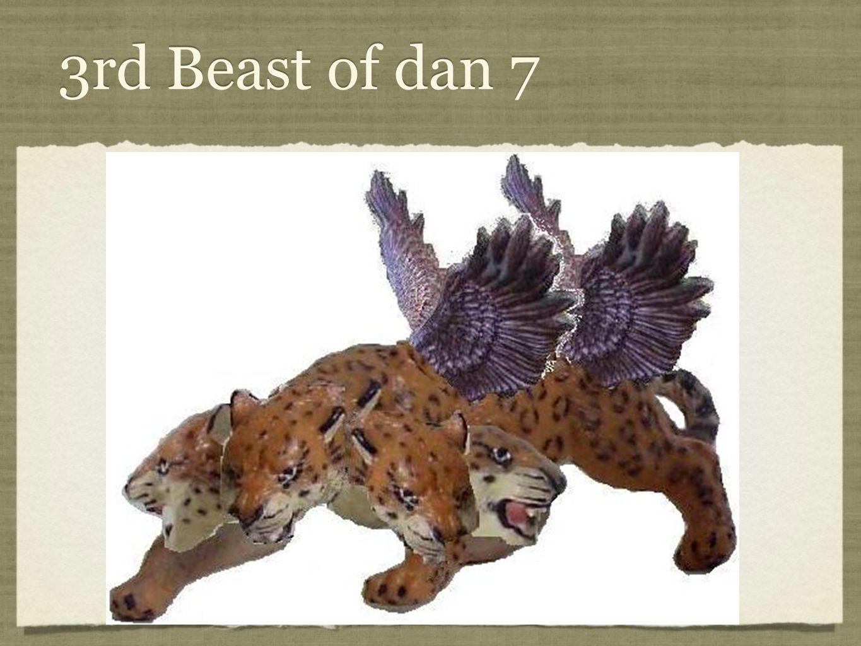 3rd Beast of dan 7