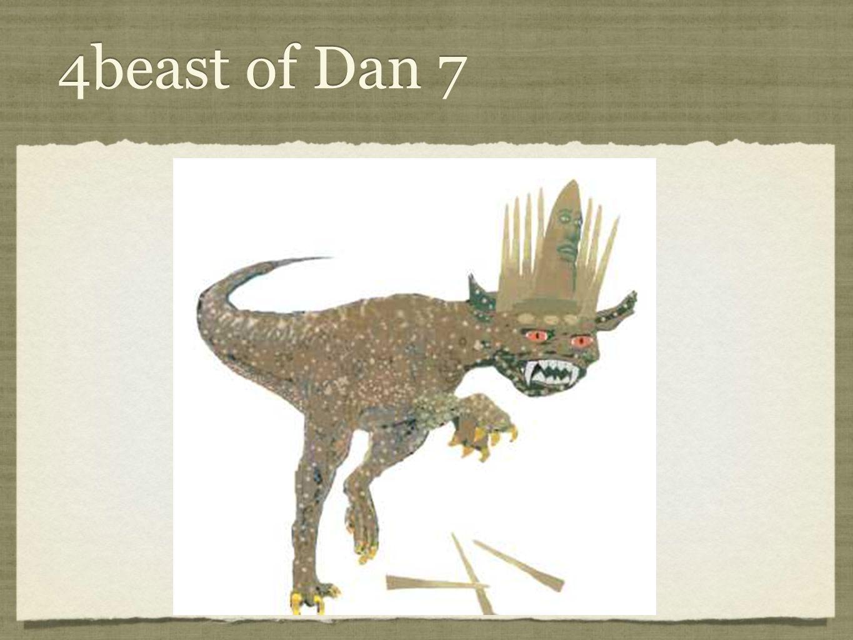 4beast of Dan 7