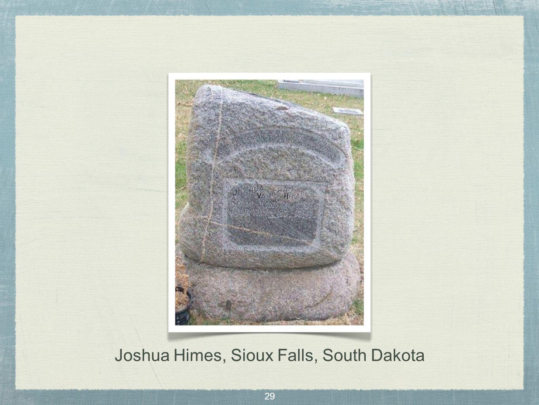 29 Joshua Himes, Sioux Falls, South Dakota