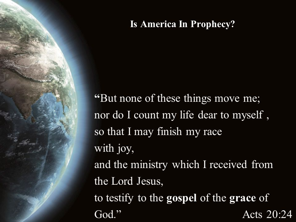Is America In Prophecy.