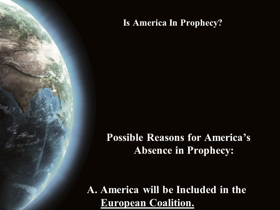Is America In Prophecy? What Can We Do?