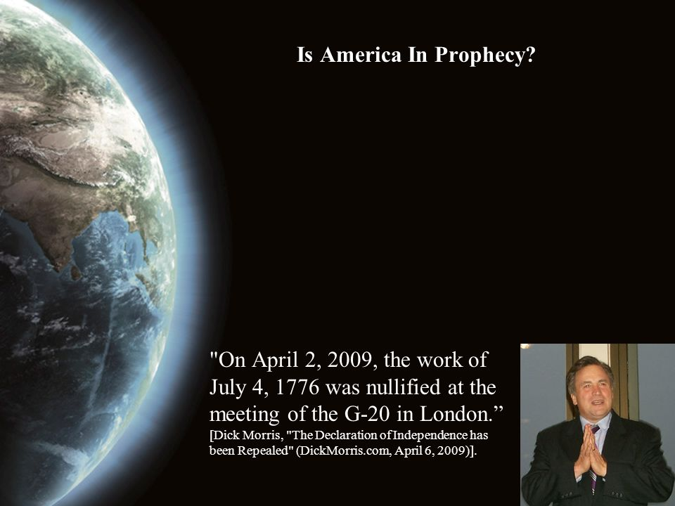 Is America In Prophecy? What Can We Do? 1.Don't MOCK God or His message (Jeremiah 5:12-13).