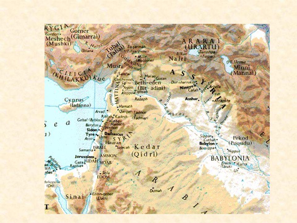 Political History Rezin of Syria (740-732) leads Syro- Ephraemite rebellion against Assyria Tiglath-Pileser III attacks Samaria 737 Samaria falls to Sargon II 722/721 Sennacherib invades Judah 701