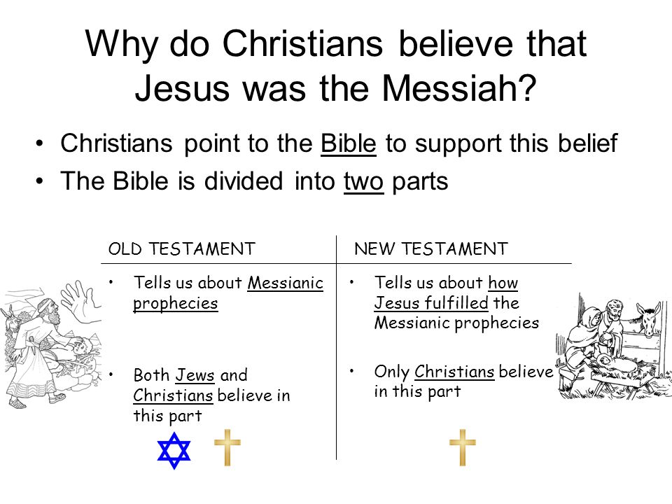 Why do Christians believe that Jesus was the Messiah.