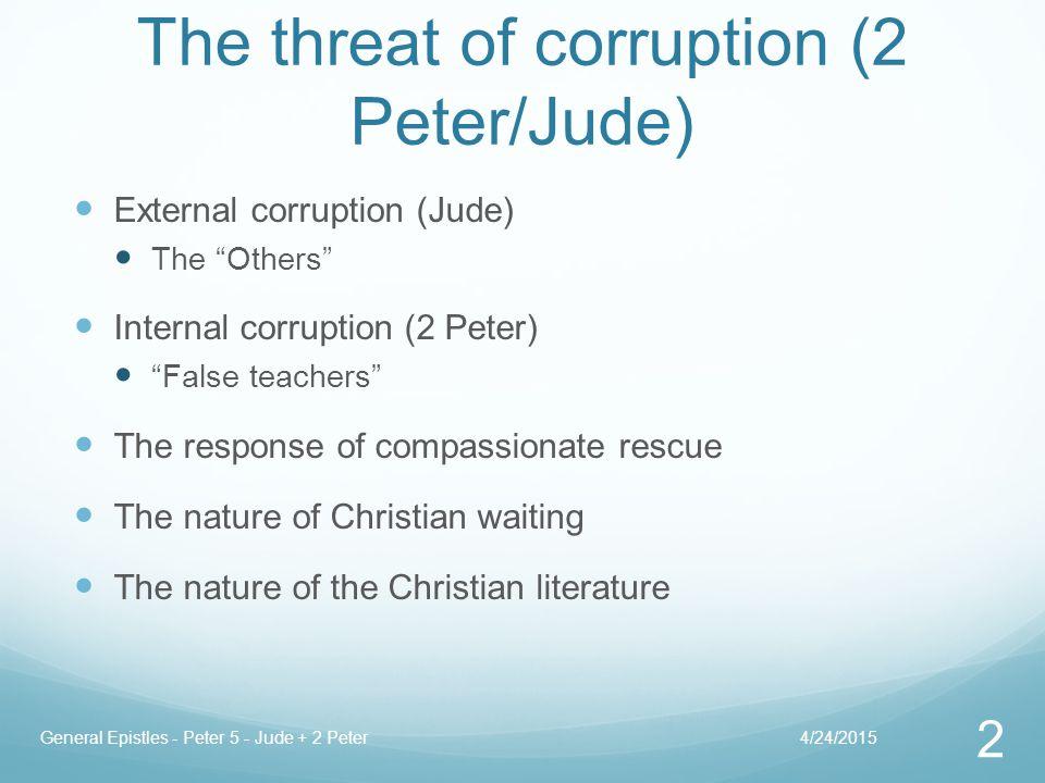 Salutation (1:1-2) 4/24/2015General Epistles - Peter 5 - Jude + 2 Peter 33